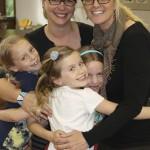 Montessori teachers with students