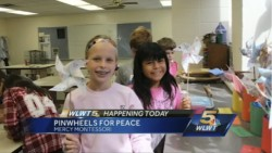 Pinwheels for Peace_WLWT Video Clip